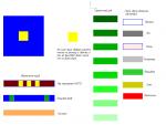 """Работы по """"Цветоведению"""" с дисциплины ОХК и дизайн"""