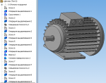 3-D модель Электродвигателя АИР 100L