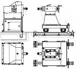 Чертеж кантователя двухстоечного КД-0.5; КД-1; КД-4
